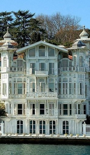 Beautiful house on Bosphorus shores, Istanbul, Turkey