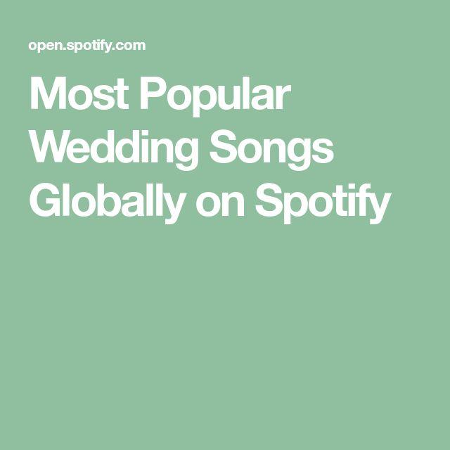 Oltre 25 Fantastiche Idee Su Most Popular Wedding Songs Pinterest