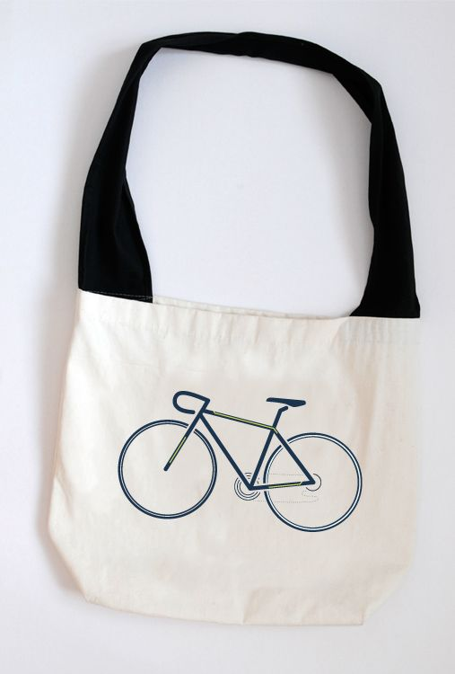 Bike on bag