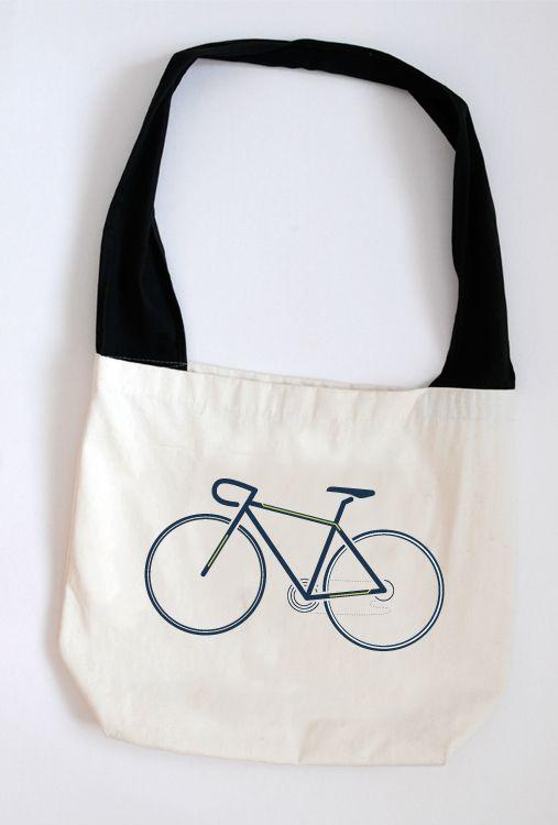 Bike on bag