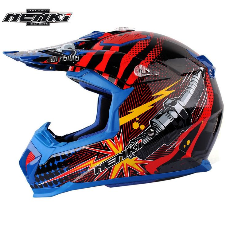 66.00$  Buy now - http://ali0up.shopchina.info/go.php?t=32808392462 - Motocross Helmet NENKI Classic Pistons ATV Dirt Bike Off Road Rally Racing Capacete Casco Casque Kask Motorcycle Helmets ECE  #aliexpress