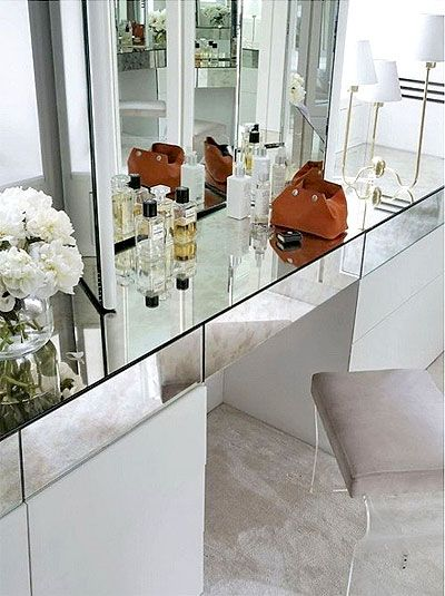 Glam dressing table