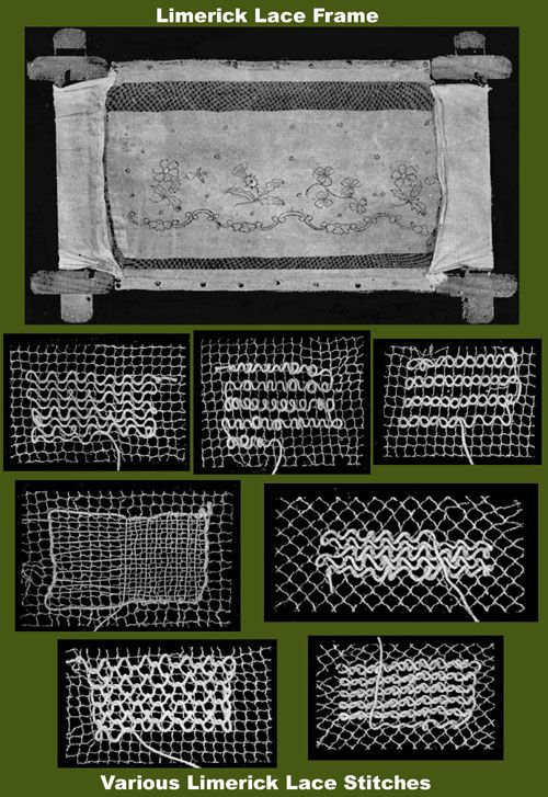 Iva Rose Vintage Reproductions - Weldon's 2D #213 c.1902 - Practical Limerick Lace