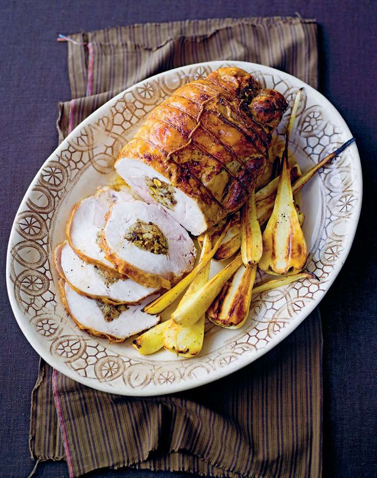 Roasted stuffed turkey breast by Margaret Fulton from The 12 Days of Christmas | Cooked