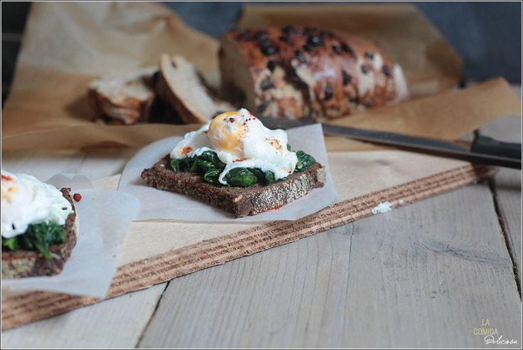 La Comida Deliciosa | * Een Ontbijt met Pasen - Florentijnse eieren | * A Breakfast with Easter - Eggs Florentine | * Un Desayuno con Pascua - Huevos florentino