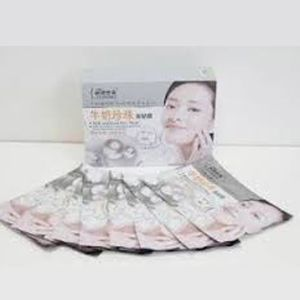 Milk and Pearl Shining n Whitening Face Mask - Beauty Care Indonesia