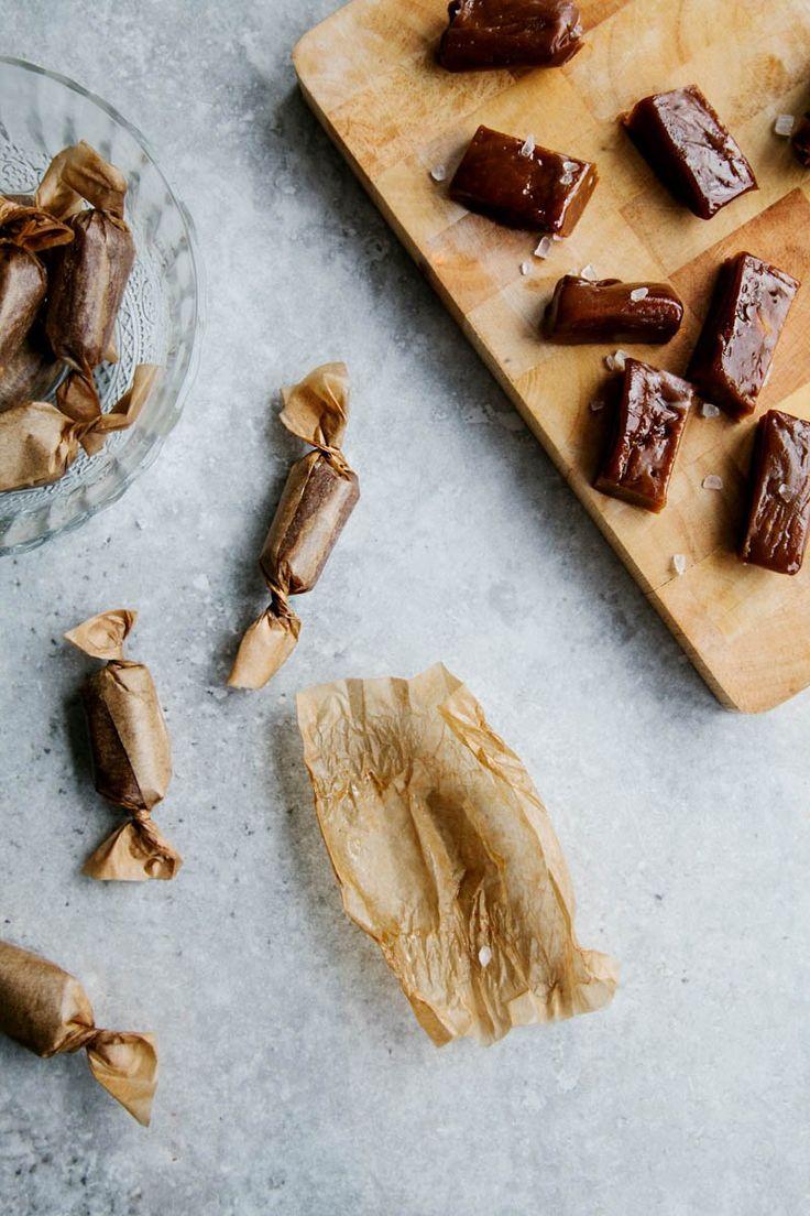 Salted Caramels (Vegan + Paleo)