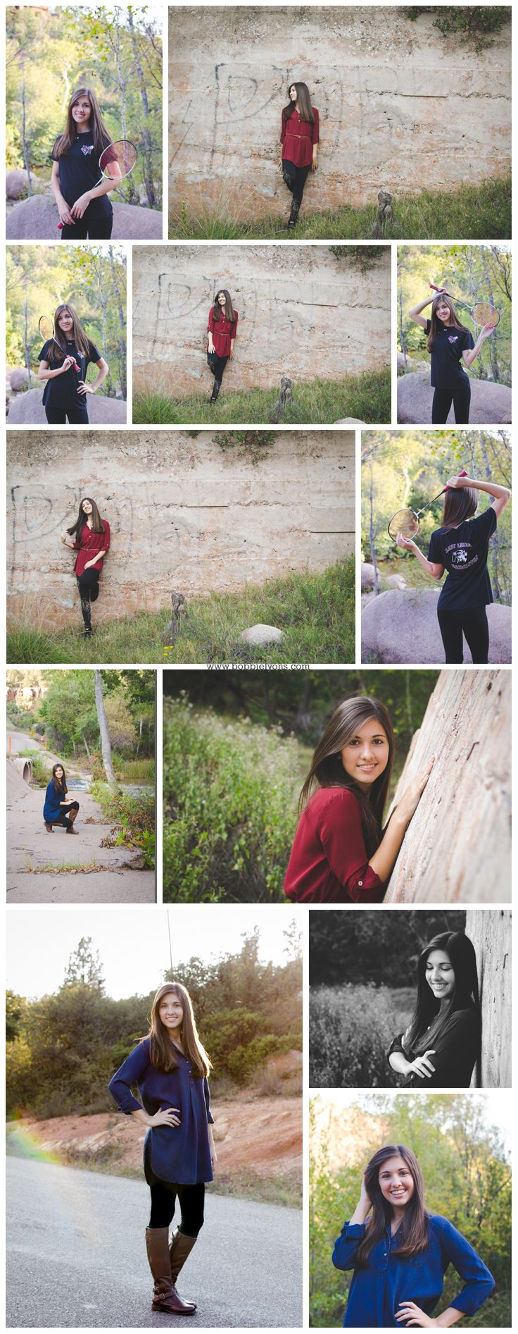 Senior photography in Payson, Arizona East Verde River Fall Senior photography Senior Photography Style Senior Style Senior sports and graduation photos Senior River photography Senior photos in the forest Arizona senior photography www.bobbielyons.com  #senior #style #photography #graduation #payson #arizona #Fallphotos #yearbook  Fall senior pictures Fall senior picture ideas Fall Senior style pictures Senior sport pictures Senior girl sport pictures Senior girl racket and jersey