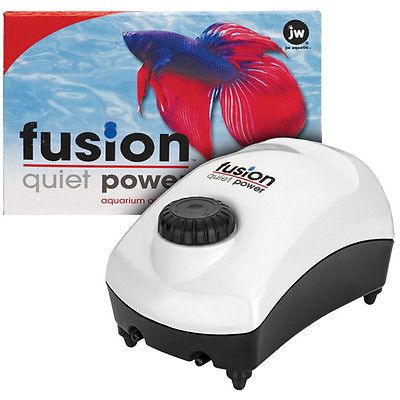 Pumps Air 100351: Jw Pet - Fusion Pump 700 Aquarium Air Pump - 1 Pump BUY IT NOW ONLY: $35.91