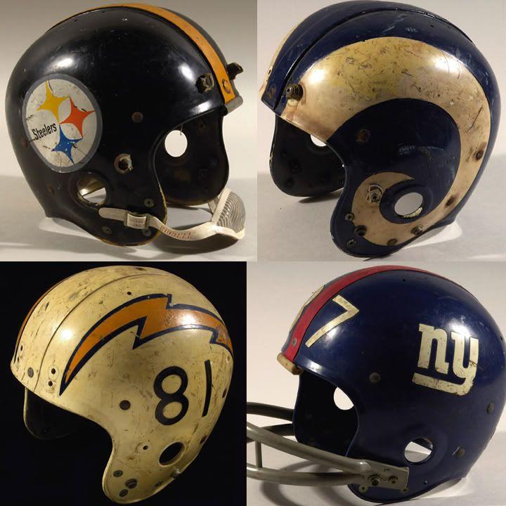 Vintage Football Helmets | Hunt Auction - GU Vintage Football Helmets - Game Used Forums