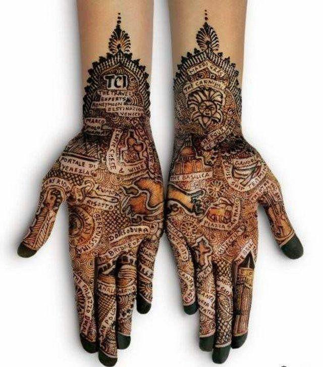 Mehndi: Henna Art, Henna Design, Beautiful, Body Art, Hands Tattoo, Henna Tattoo, Hands Art, Henna Hands, Ink