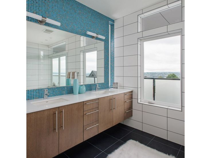 Brio Shimmer Glass Mosaic Tile In Waterworld   Bathroom Tile Ideas