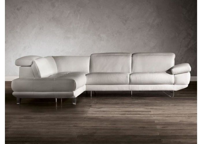 Natuzzi Editions B766 Leather Sectional Leather