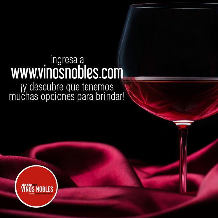 Encuentra nuestros #VinosNobles, servicios y puntos de venta en el sitio web www.vinosnobles.com