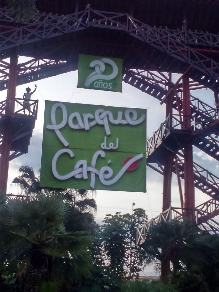 Monumento al parque del café, la mágia del eje cafetero #Colombia