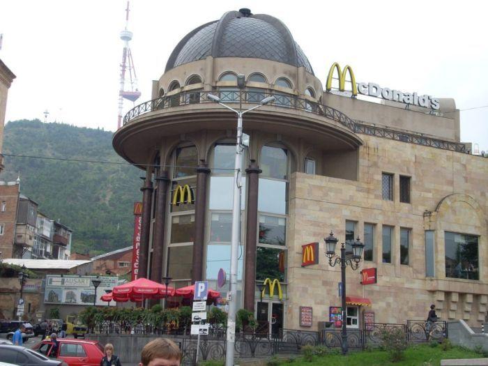 McDonald's in Tbilisi, Georgia