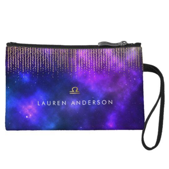 Libra Zodiac Pretty Cosmetic Bag