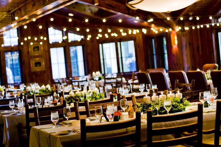 An Indoor Rustic Ceremony: Cucina Rustica Reception