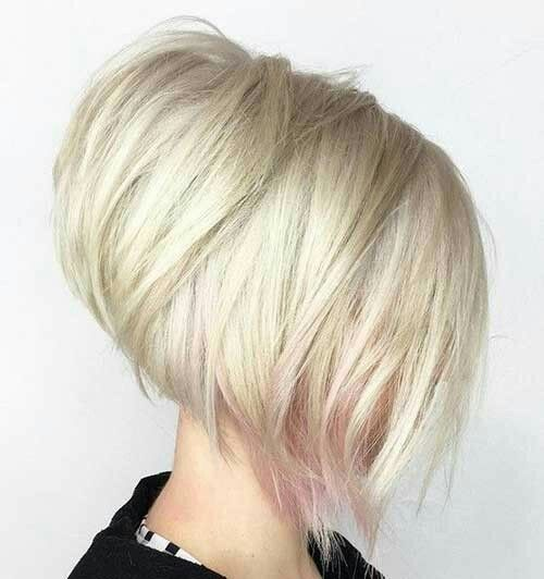 Stacked bob.  inverted a line bob.  Love the shape of this