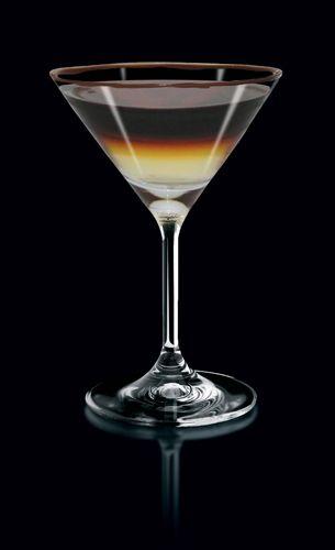 Espresso vodka and coconut rum combine for the ultimate in good times when drinking the Triple Espresso Martini.