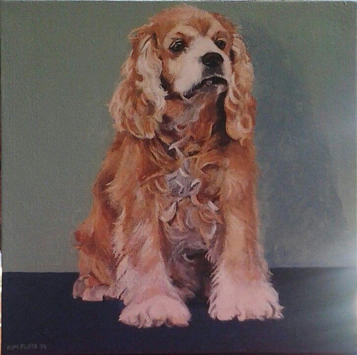 """BUDDY"" acrylic on canvas Kim Floyd 2014"