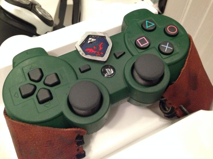 Custom Zelda PS3 Controller. Great custom controller just like the ones we sell at our website PlayStation Nation