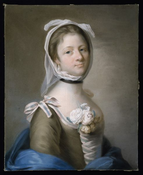Mrs. Garrick, Rad, Katherine (Catherine Read), about 1755, Pastel. Bequeathed by Mrs M. V. Cunliffe. l Victoria and Albert Museum