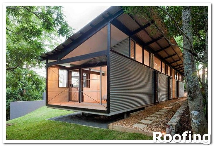 Roofing Design In The Winter Months Be Sure Your Roof Is Equipped With Ice And Rain Shields Also M Architecture Container House Container House Design