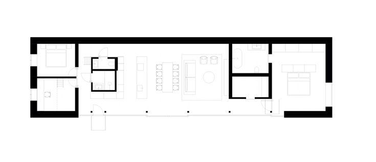 Gallery Of House V Martin Skocek 27 Modern Architecture House Modern Architecture Interior Vernacular Architecture Zinc house floor plan