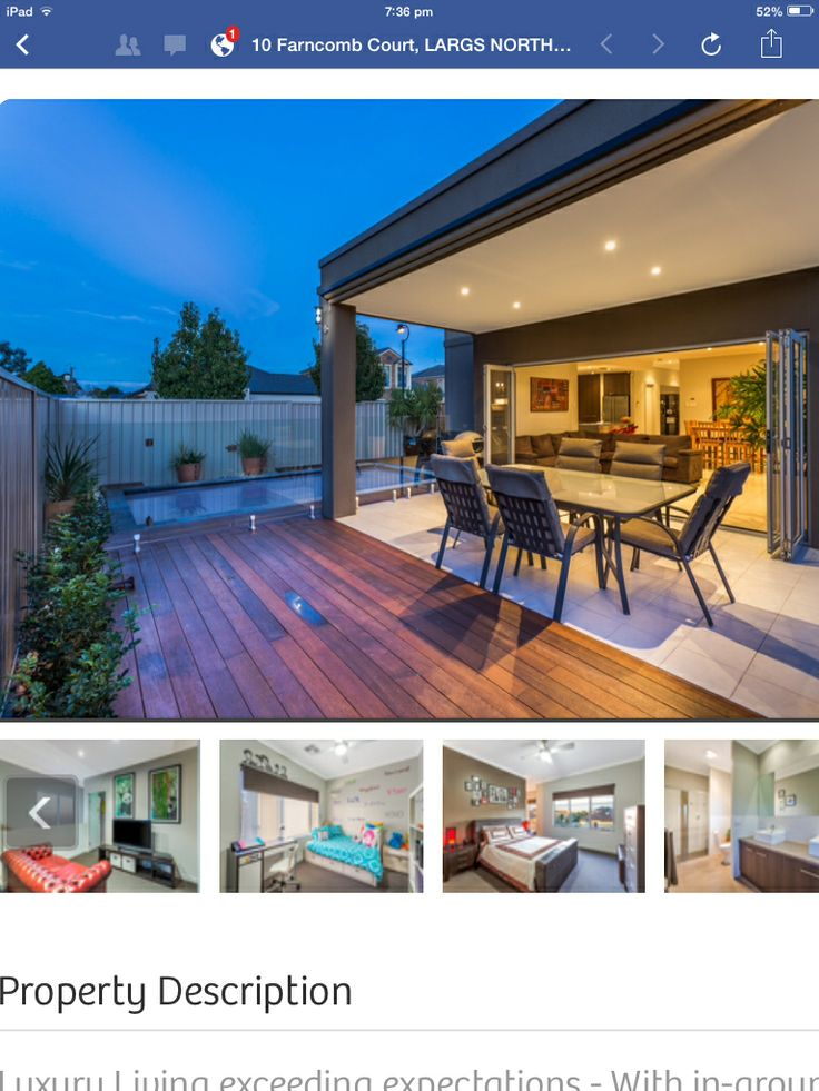 Decking extends small out door areas