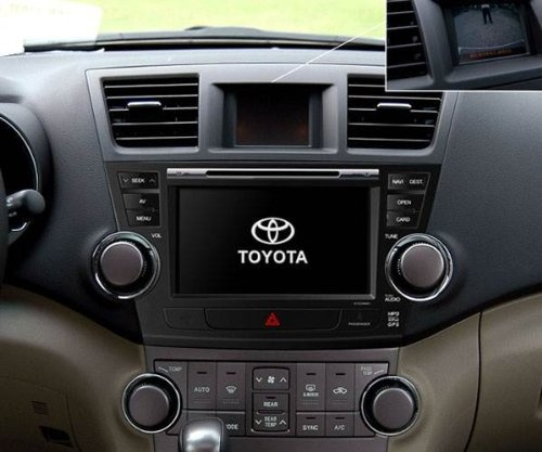 2012 Toyota Highlander Limited: OEM Replacement DVD 8-Inch Touchscreen GPS Navigation Unit