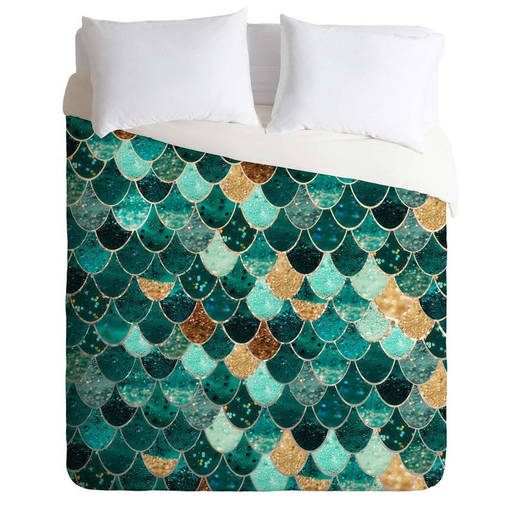 Monika Strigel Really Mermaid Duvet Cover | DENY Designs Home Accessories