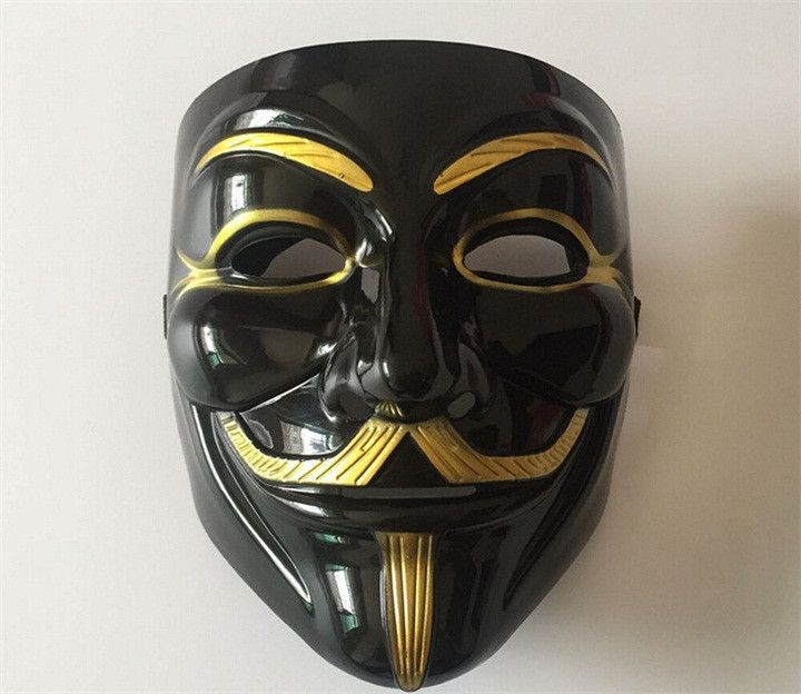 V for Vendetta Mask Anonymous Guy Fawkes Fancy Dress Fancy Halloween Costume Cosplay