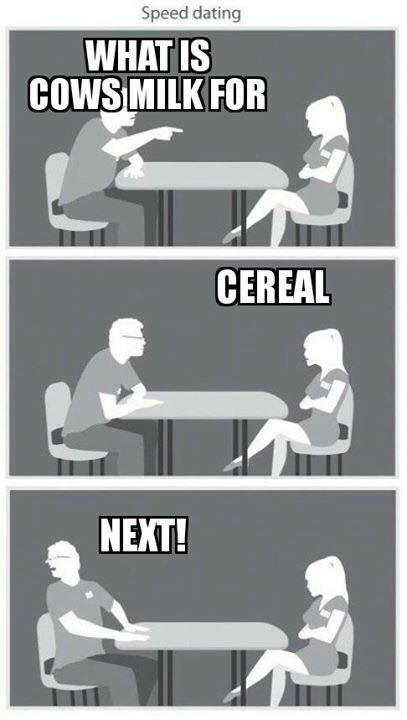 Speed dating humor