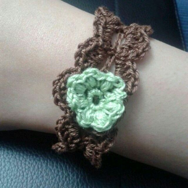 Crochet bracelet Turkish fine material