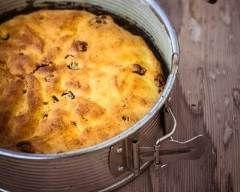 Flan alsacien aux pommes : http://www.cuisineaz.com/recettes/flan-alsacien-aux-pommes-32866.aspx