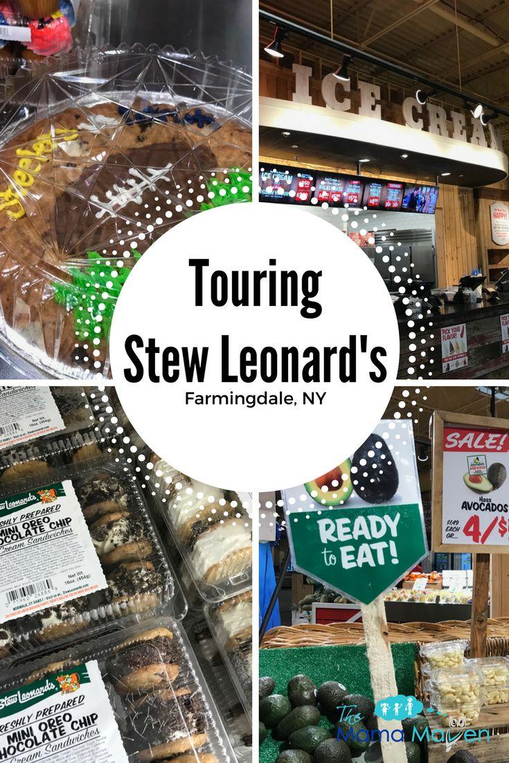 Touring Stew Leonard's in Farmingdale, NY | The Mama Maven Blog