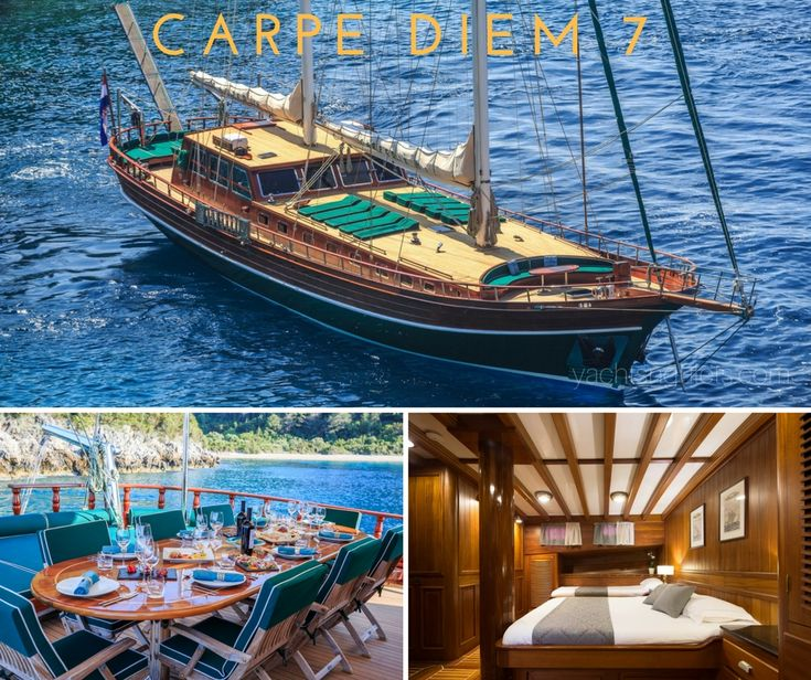 #croatia based #guletcharter CARPE DIEM 7 is offering last minute discounts for June. Contact #miryayachting for more information.