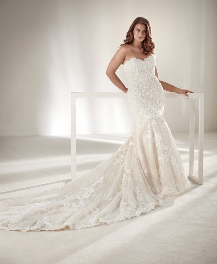low budget wedding new jersey%0A Glamorous Plus Sizes Dresses From Pronovias