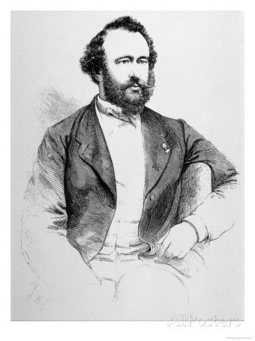 Adolphe Sax French Inventor of Musical Instruments Giclee Print at ...