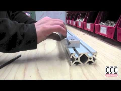 V-Con Linear Motion from CNC Router Parts - YouTube
