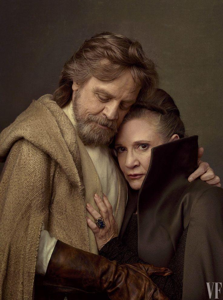 Luke and Leia Skywalker from Star Wars The Last Jedi!