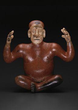 Фигура рассказчика 100-800 г.н.э. Мексика