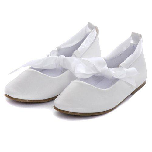 Kids Dream Little Girl 1 White Ballerina Ribbon Tie Rubber Sole Shoes Kids Dream http://www.amazon.com/dp/B00JMKIGLO/ref=cm_sw_r_pi_dp_EF2Rtb0Z66CJEWQQ