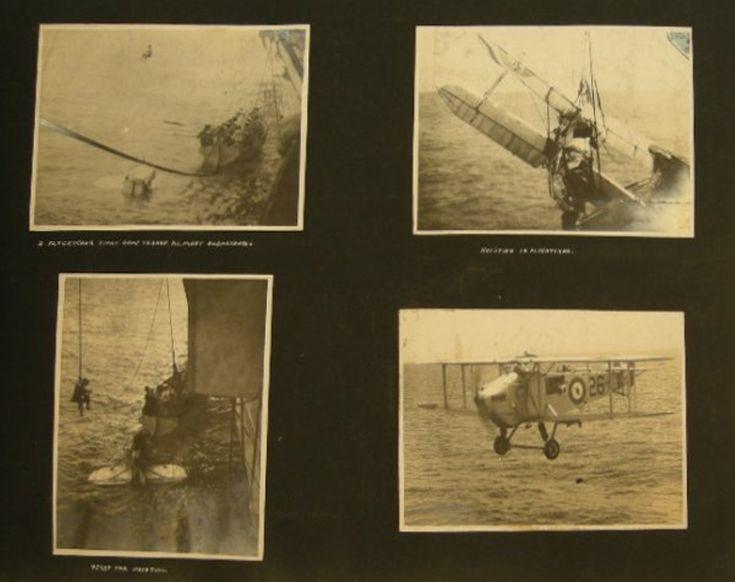 569: HMS photograph album dedicated to Lt. Alfred Dewin
