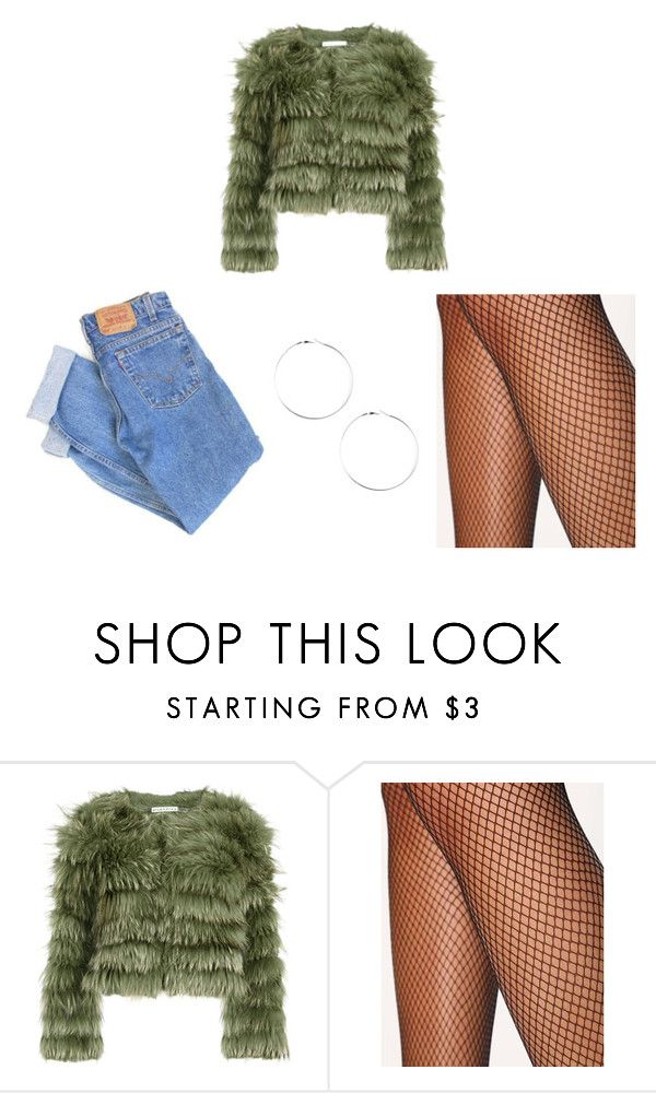 """""""Untitled #24"""" by dorcikecskemeti on Polyvore featuring Alice + Olivia, Levi's and ASOS"""