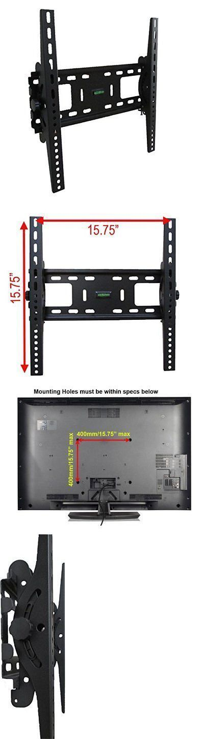 TV Mounts and Brackets: Lcd Led Plasma Flat Tilt Tv Wall Mount Bracket 24 30 32 37 42 46 47 50 52 55 -> BUY IT NOW ONLY: $47 on eBay! #plasmatvwallmount