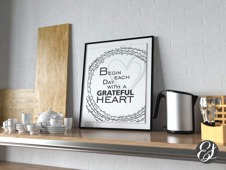 """Check out my @Behance project: """"PRINTABLE """"Grateful Heart"""" Wall Hanging"""" https://www.behance.net/gallery/47268955/PRINTABLE-Grateful-Heart-Wall-Hanging"""