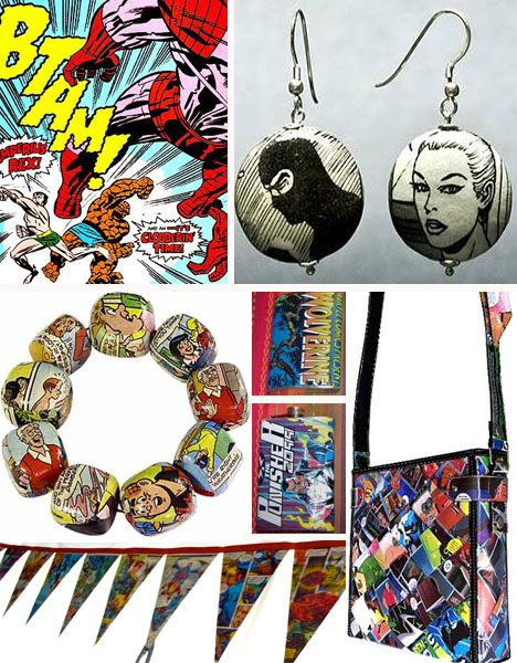 Wham! Old Comic Books are Ripe with Repurposing Potential - 1-800-RECYCLING