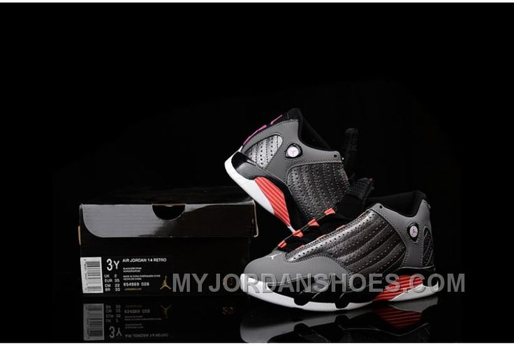 http://www.myjordanshoes.com/kids-jordankids-air-jordan-14-charcoal-red-new-arrivals.html KIDS JORDAN|KIDS AIR JORDAN 14 CHARCOAL RED NEW ARRIVALS Only $73.00 , Free Shipping!